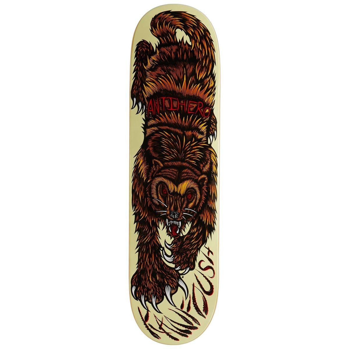 Anti-Hero Kanfoush Gulo Skateboard Deck - 8.25''
