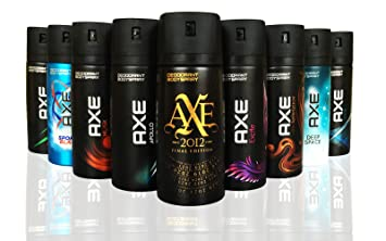 AXE Body Spray MIX within available kind ( Pack of 6)(6X 150 ml/5 07 oz )