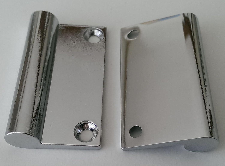 Spiegelschrankgriff Türgriff Spiegelschrank BA 32 mm Verchromt ...