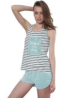 ADMAS Pijama Tirantes Mujer Weekend