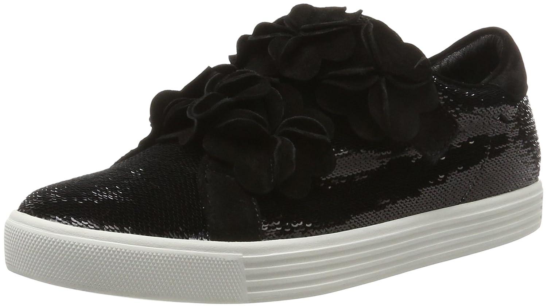 Kennel und Schmenger Damen Town Sneaker Schwarz (schwarz Sohle Weißs)