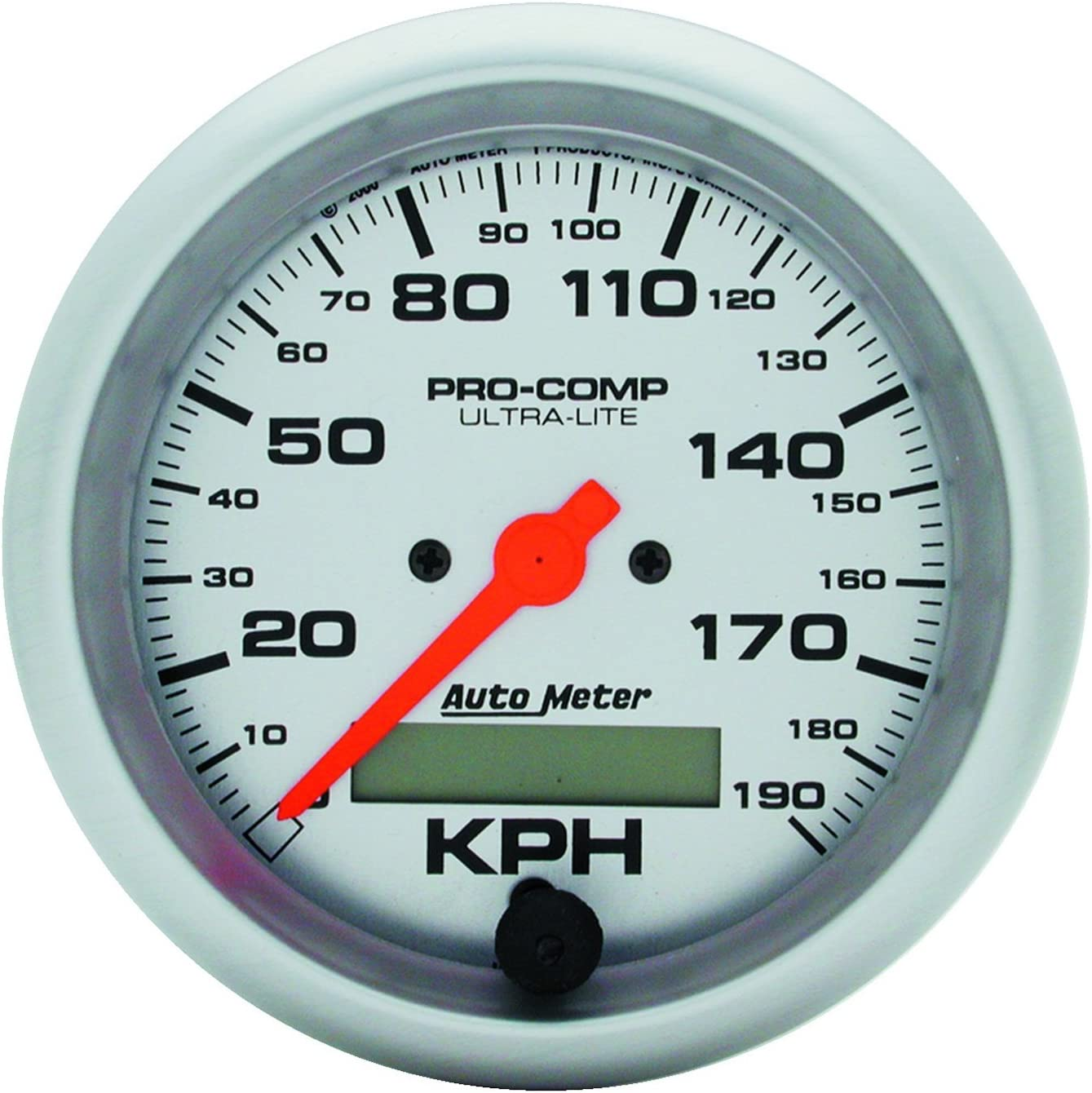Auto Meter 4486 Ultra-Lite In-Dash Electric Speedometer