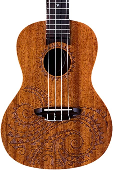 Luna UKE TC MAH estuche para ukelele: Amazon.es: Instrumentos musicales