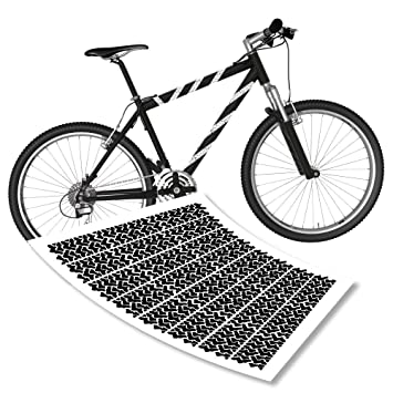 Motivational Cycling Bicycle Decal//Sticker Head Down And Floor It MS043SM