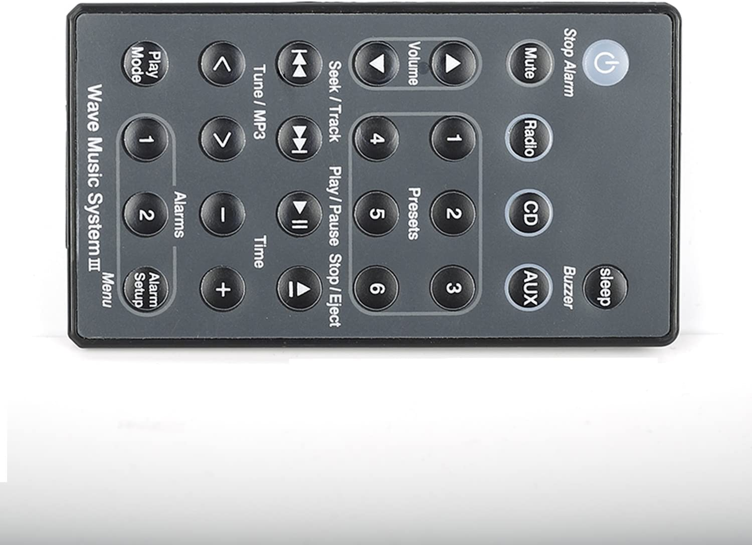 Without Battery Remote Control for Bose Sound Touch Wave Music Radio System CD AWRCC1