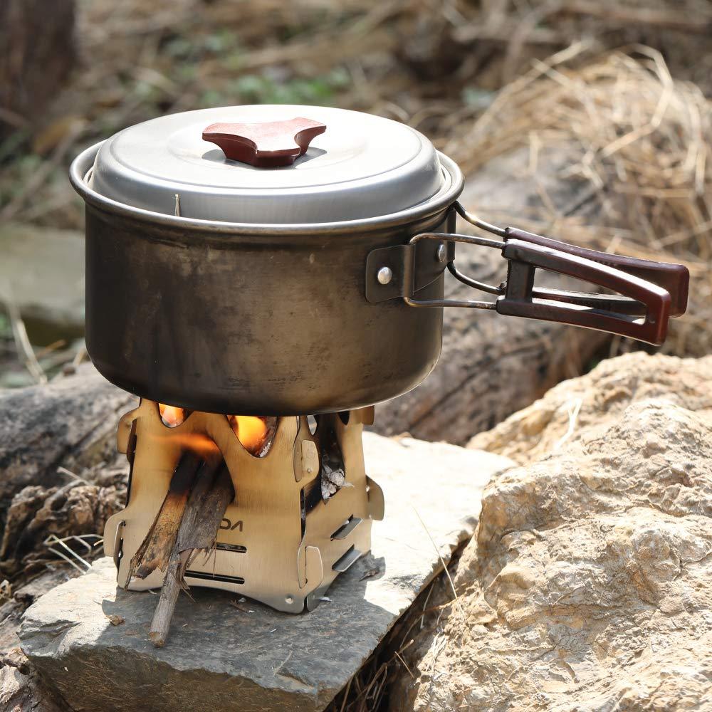 Tragbare Mini Spiritusbrenner Alkohol Herd Outdoor Kochen Camping Ofen