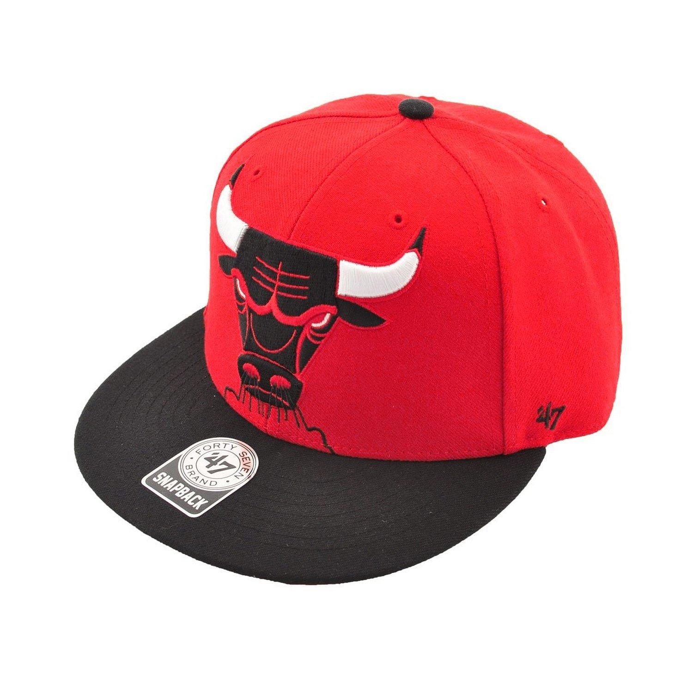 47 Brand NBA Chicago Bulls Snapback Hat Cap