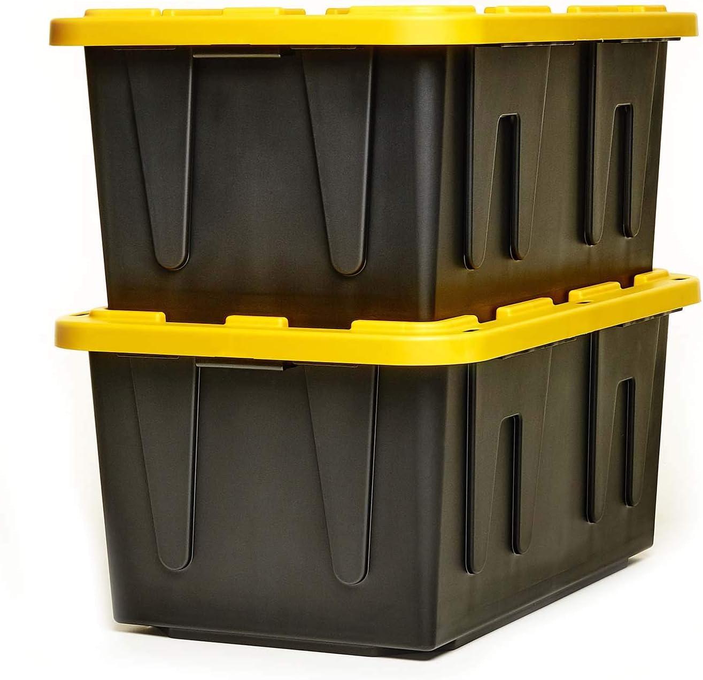HOMZ Tough Durabilt Tote Stackable Box