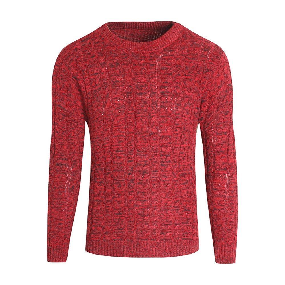 Gndfk die koreanischen männer Pullover Mantel Pullover Pullover Slim Winter Mode - Freizeit -,Rot - rot,2XL