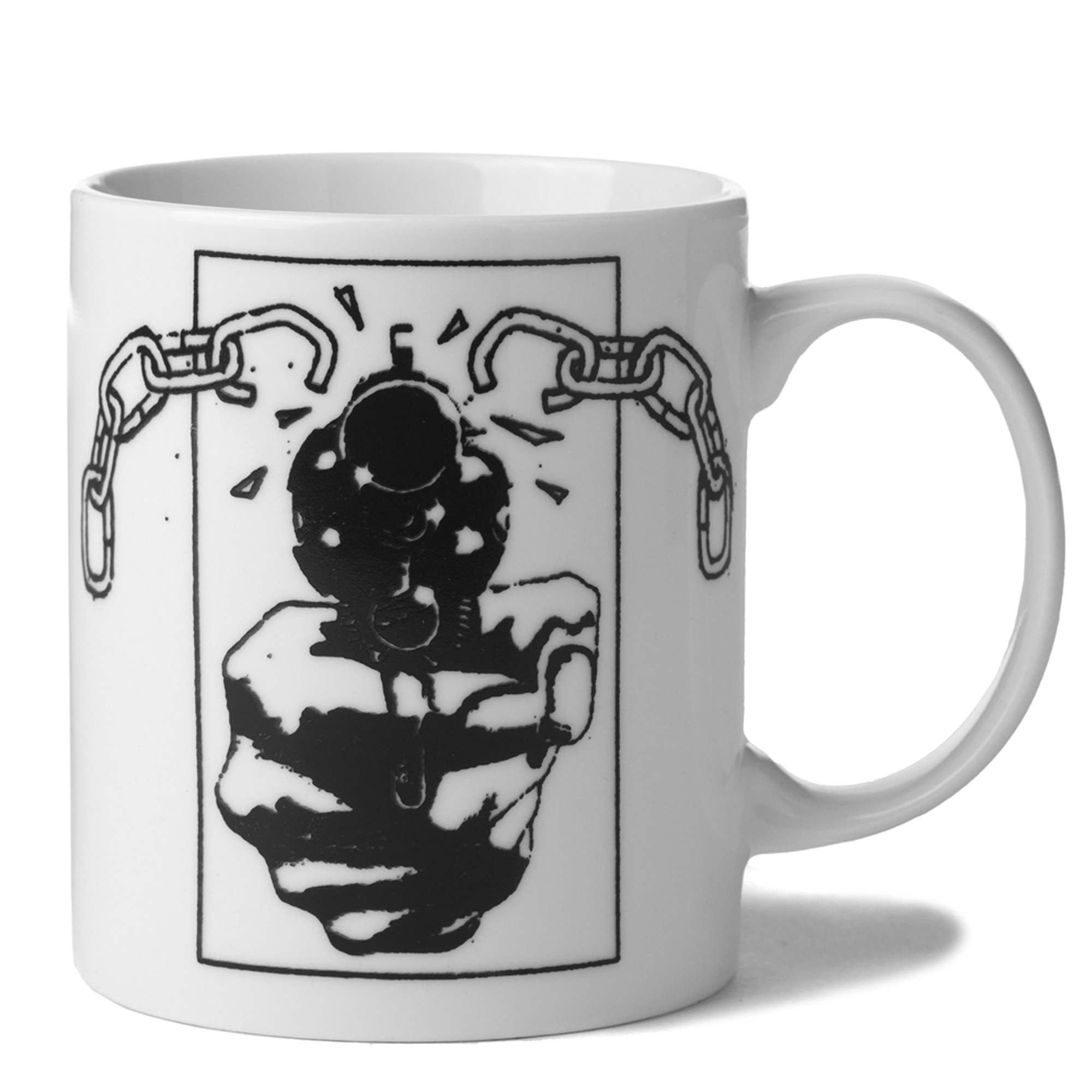 Huf Men's Huf Coffee Mug, White, One Size