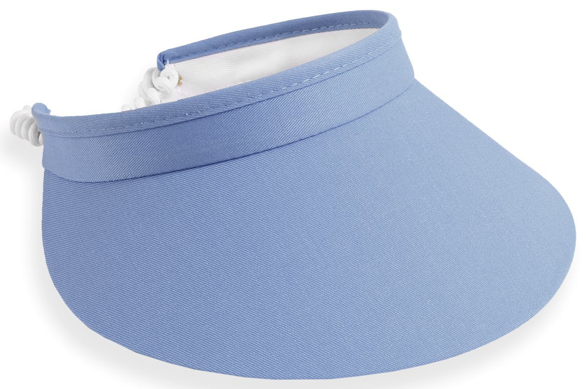 Town Talk 4'' Twisted Cord Visor (5200) (Blueberry)
