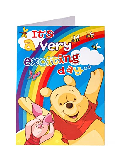 Amazon Winnie The Pooh Its A Very Exciting Day Rainbow