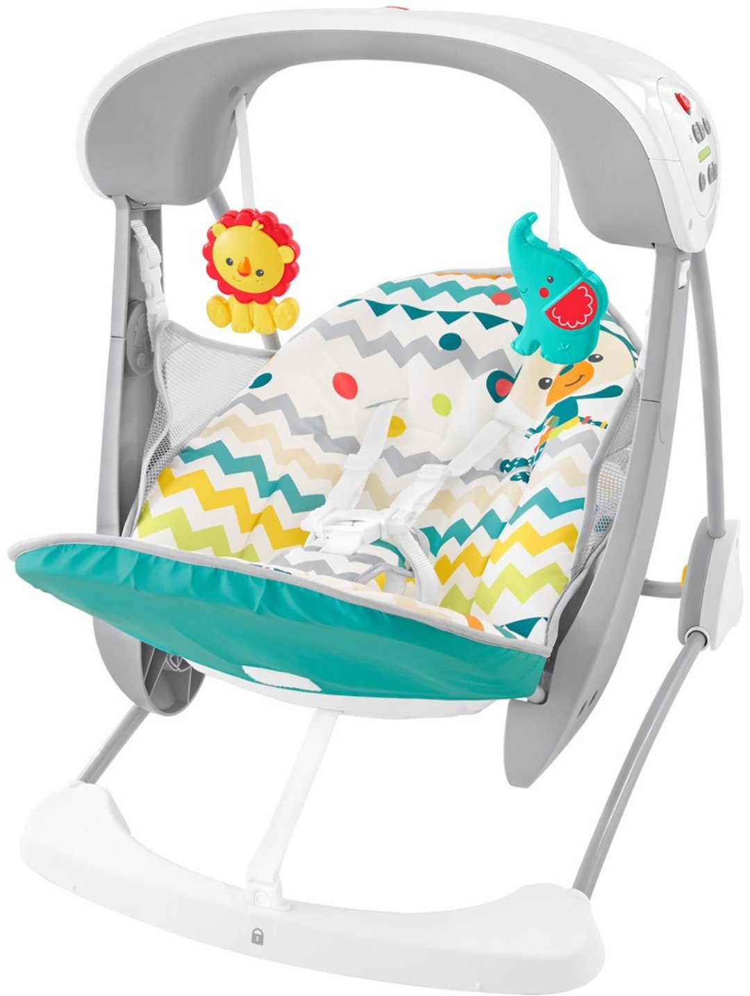 Fisher-Price Deluxe Take-Along Swing /& Seat