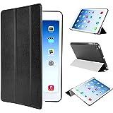 EasyAcc Ultra Slim iPad mini 3 / iPad mini Retina Display / iPad mini Protector Smart Case Back Cover with Stand - PU Leather Black