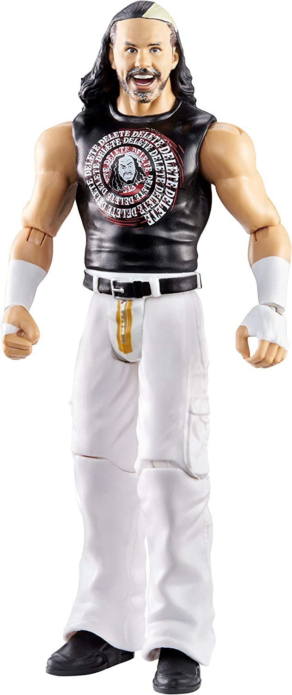 WOKEN MATT HARDY MATTEL WWE WRESTLEMANIA 35  ACTION FIGURE CREASED CARD