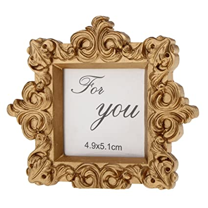 7eb08789d999 Dolity Wedding Banquet Antique Gold Picture Photo Frame Party Table  Settings Number Name Place Card Holder