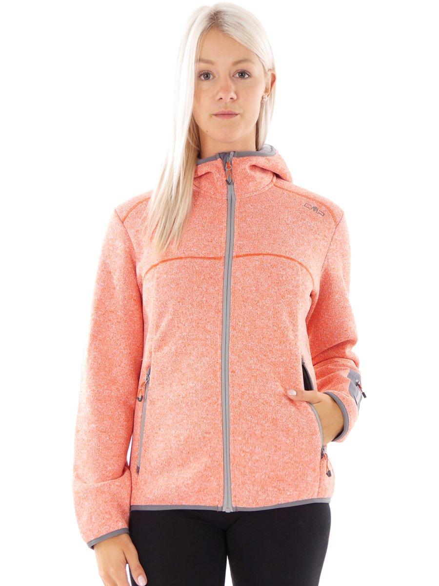 CMP 3A16966 Softshelljacke Damen Knitted Highloft Rot/Rosa