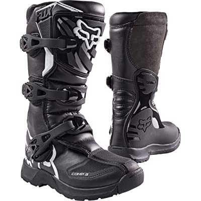 2020 Fox Racing Youth Comp 3 Boots-Y7: Automotive