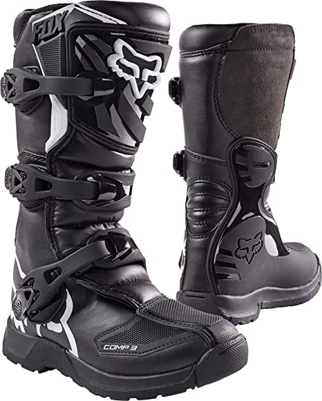 Amazon.com: Botas de moto todoterreno juvenil Fox Racing ...