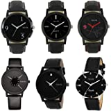 Stylevilla Collection Men's Analogue Multicolour Dial Watch Combo
