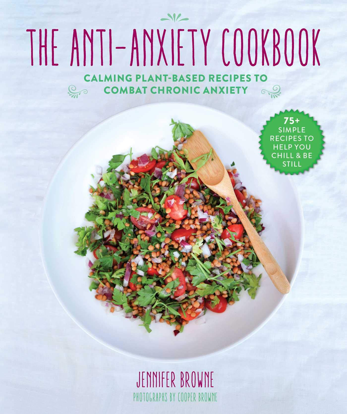 Anti Anxiety Cookbook Calming Plant Based Recipes product image