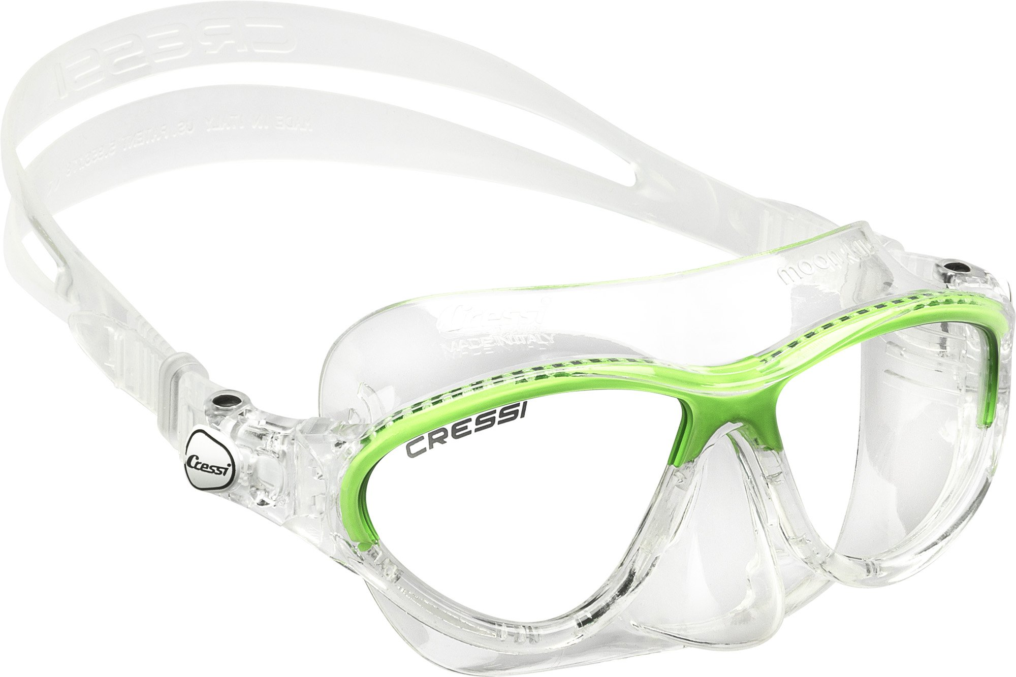 Cressi Moon, Clear/Lime