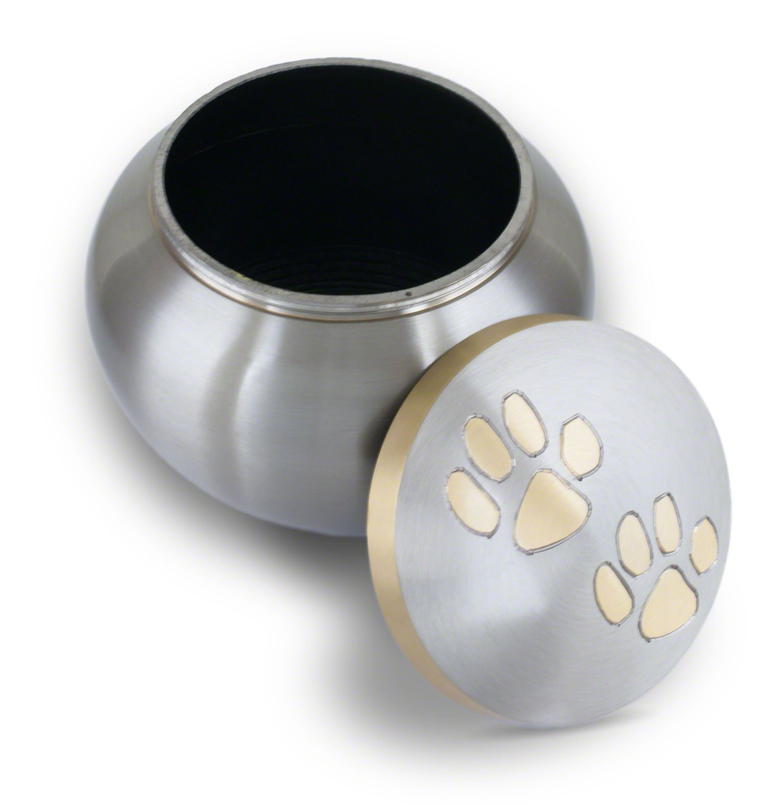 Best Friend Services Odyssey Pewter with Brass Paws (Large) by Best Friend Services (Image #3)