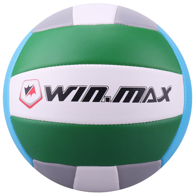 Volleyball - Balón de Voleibol de Playa, Talla 5 (Amarillo/Armada) Molee