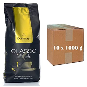 Dallmayr Classic Gold - Café instantáneo para cafeteras automáticas, 500 g, 10 paquetes: Amazon.es: Hogar