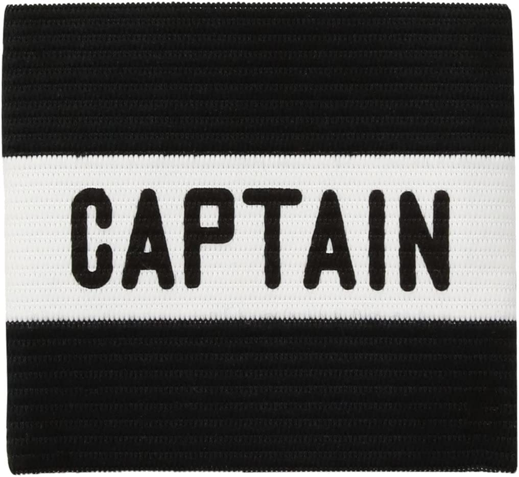 Kwik Goal Youth Captain Arm Band, Black: Sports & Outdoors