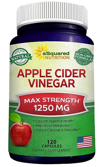 apple cider vinegar para que sirve pastillas
