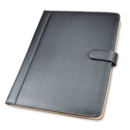Amazon.com : Padfolio Business/Resume Portfolio, AHGXG Leather ...