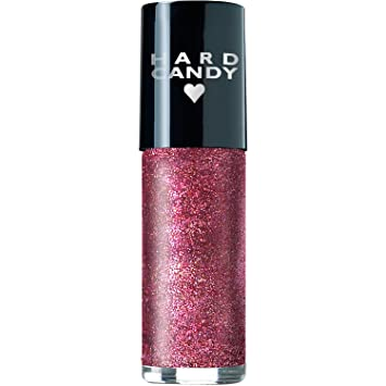 f5faaea3d0 Amazon.com : Hard Candy Crushed Chromes Nail Polish #727 Crush on Hot Pink  : Beauty