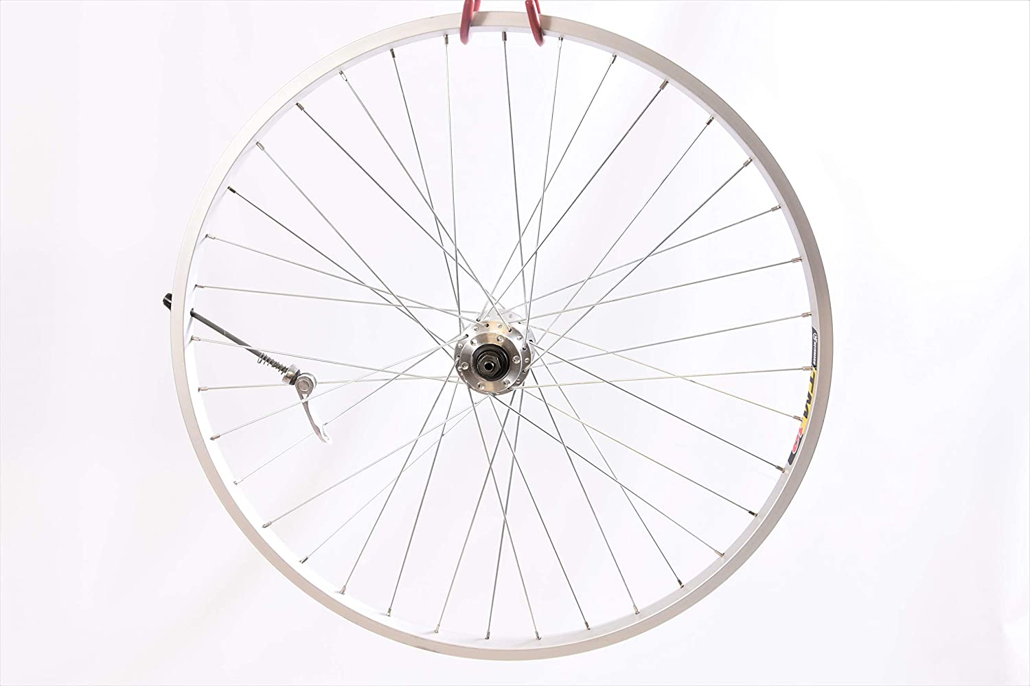 """Specialist Bike Wheels LOW COST 26/"""" MTB FRONT WHEEL 559x19 Skewer supplied WITH DISC BRAKE HUB AND QUICK RELEASE AXLE"""