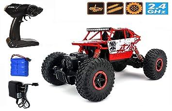Buy Zest 4 Toyz 2 4ghz 1 18 Rc Rock Crawler Vehicle Buggy Car 4 Wd