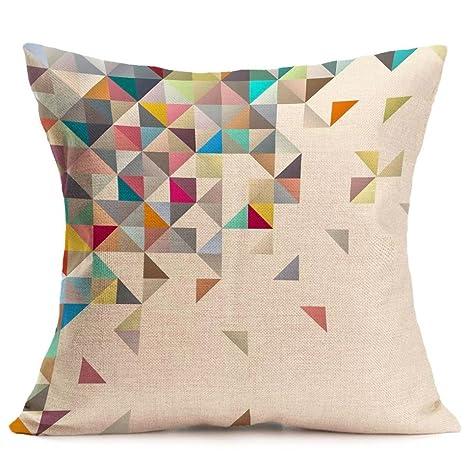 Lookatool 14 diseño Fashion lino y algodón manta funda de ...