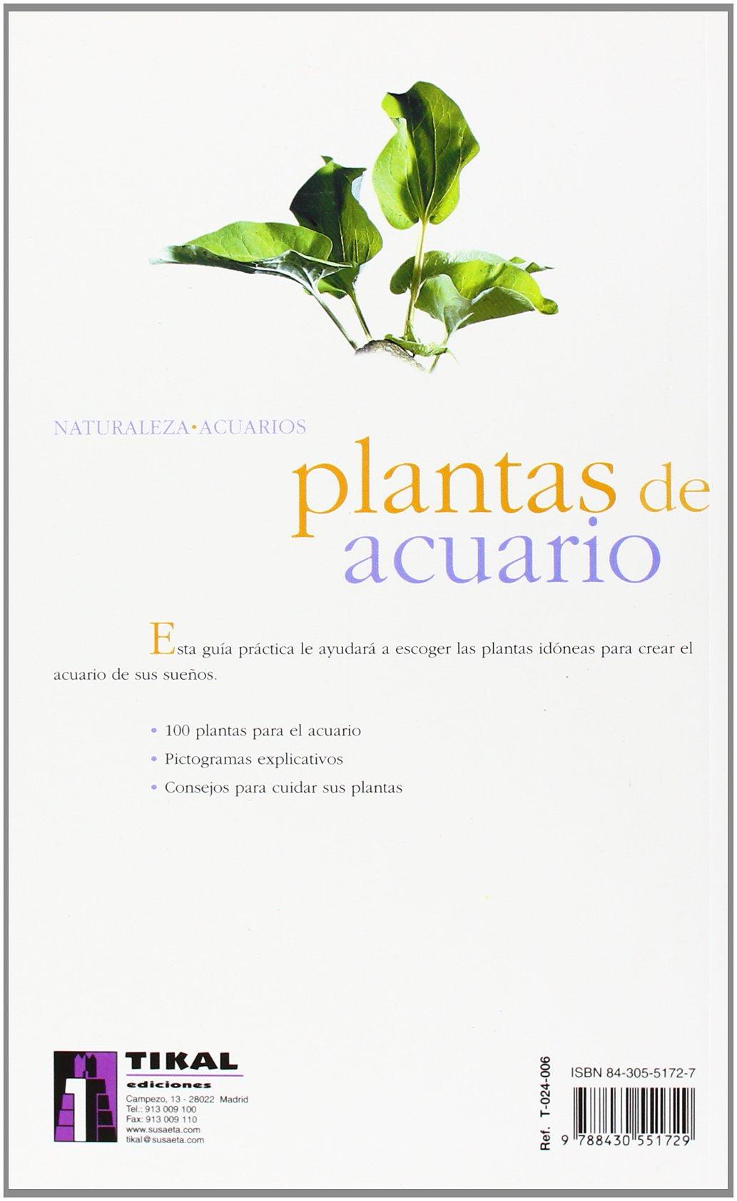 Plantas De Acuario/aquarium Plants (Spanish Edition): Robert Allgayer: 9788430551729: Amazon.com: Books