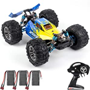 XLF F17 70km/h High Speed Racing Car 1/14 2.4GHz 4WD RC Car for Adults Off-Road Drift Car RTR Brushless Motor Metal Chassis with 3