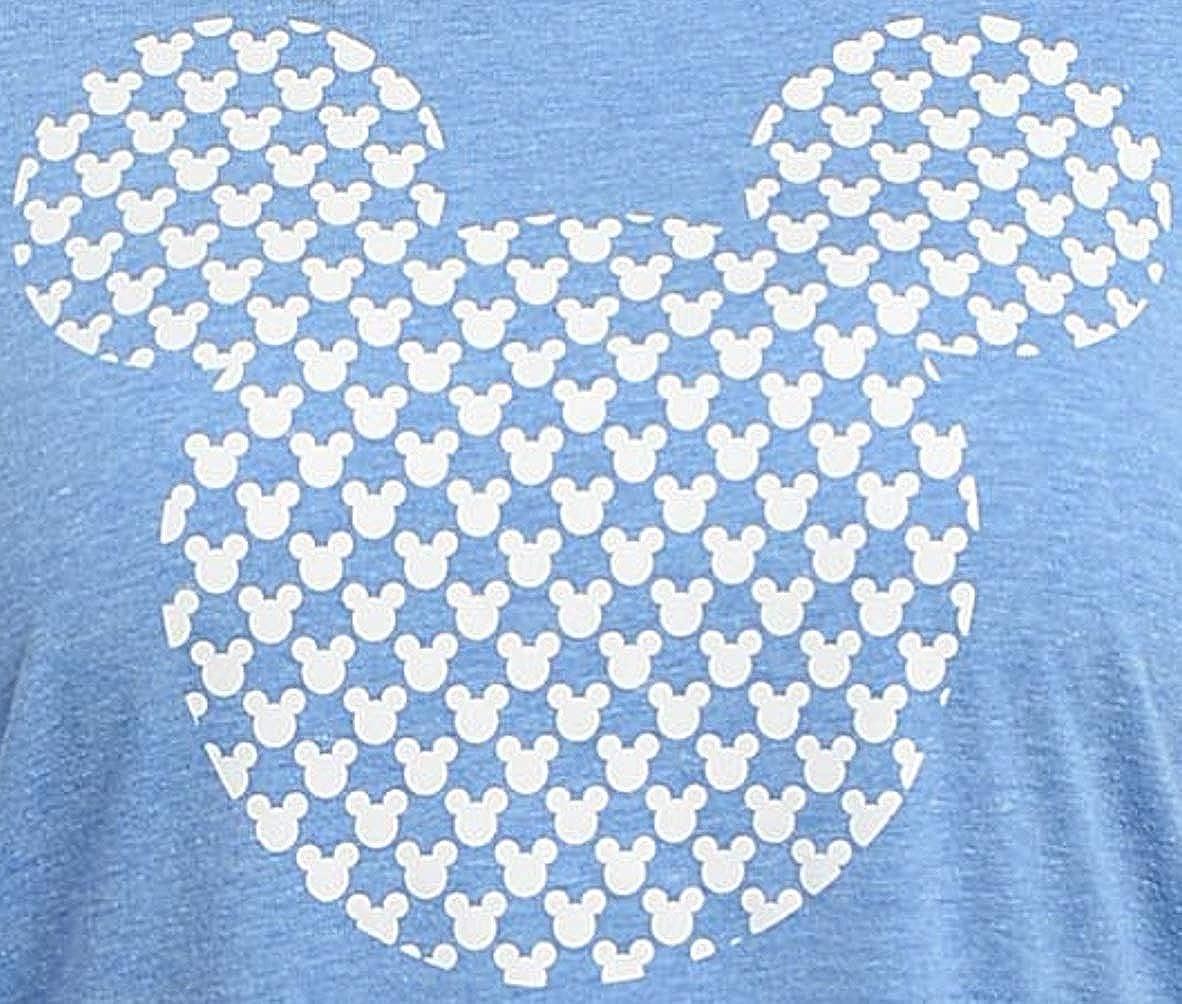 Disney Womens Plus Size T-Shirt Mickey Mouse Icon Print