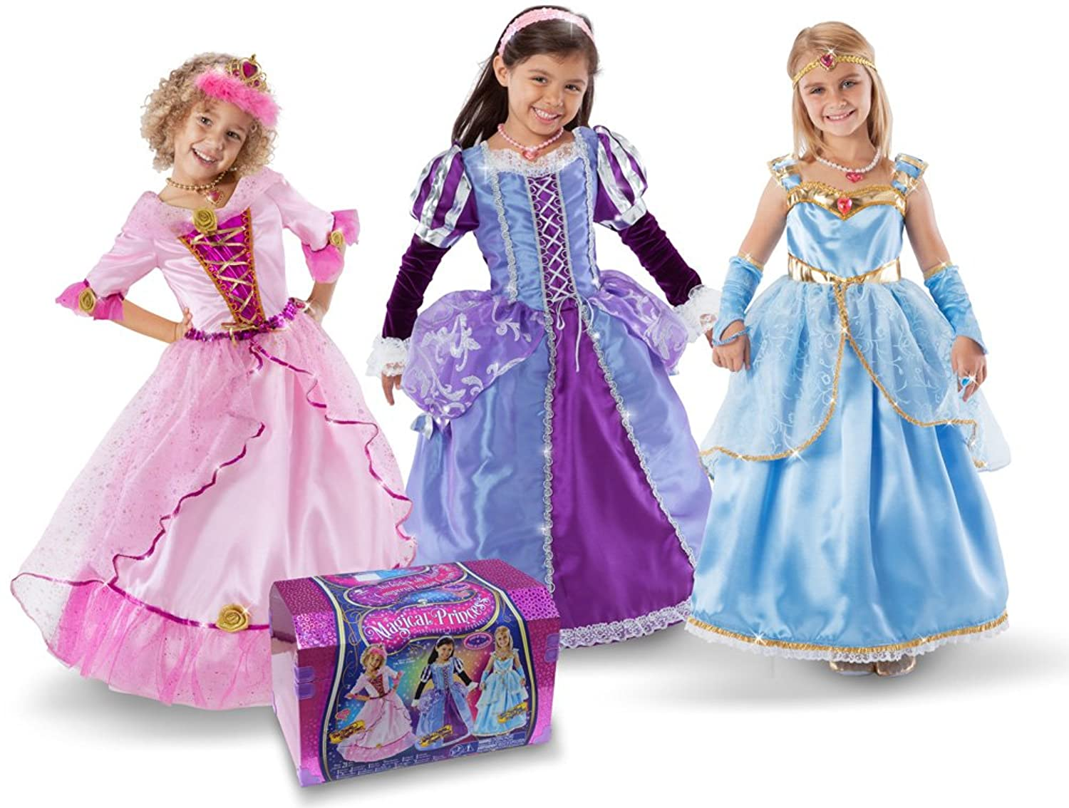 Princess Factory by Teetot Magical Princess Dress Up Chest