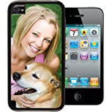 iPhone 4 / 4s PixCase - Personalize It Yourself – Insert photos or create custom inserts at PersonalizeItYourself.com and change anytime - Shock absorbing vinyl edges with clear picture window