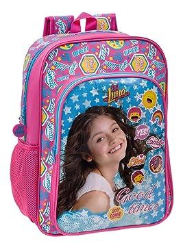 Disney Yo Soy Luna Mochila Escolar, 19.2 litros, Color Azul: Amazon.es: Equipaje