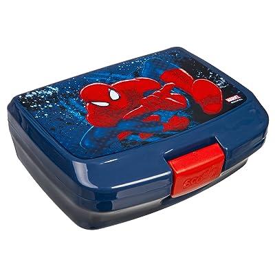 scooli spju9900–Boîte repas, Marvel Spider-Man, env. 13x 17x 6cm