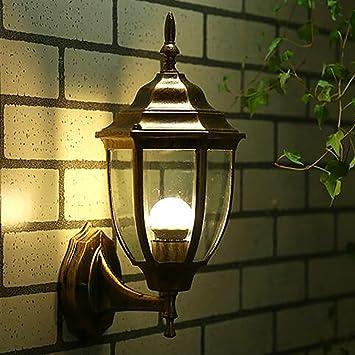 Vendimia Lámpara de pared,Jardin Apliques de pared Moderno Vaso Vendimia Paisaje El balcón Luces de pasillo-amarillo 37x17cm(15x7inch): Amazon.es: Bricolaje y herramientas
