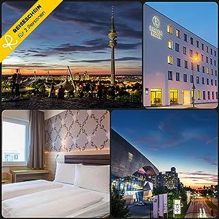 Reiseschein Voyage SCHEIN–4jours pour 2BM Bavaria Motel à Munich–Dans le monde ville avec cœur vivons–Hôtel Bon Bon kurzreise kurzurlaub Voyage Cadeau