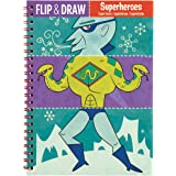 Mudpuppy Superheroes Flip and Draw
