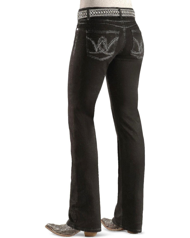 Wrangler Women's Premium Patch Booty Up Technology Jean