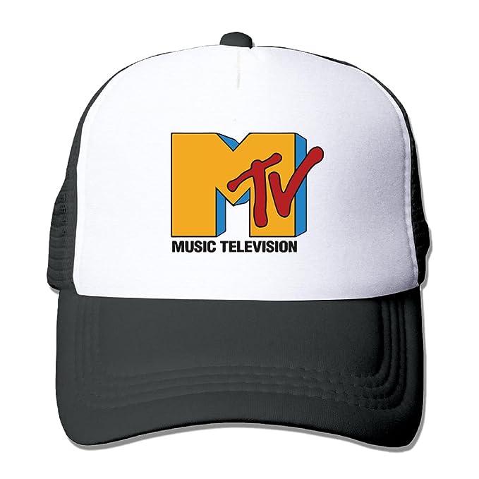 6826294c150 Amazon.com  MTV logo mesh hats Black  Clothing