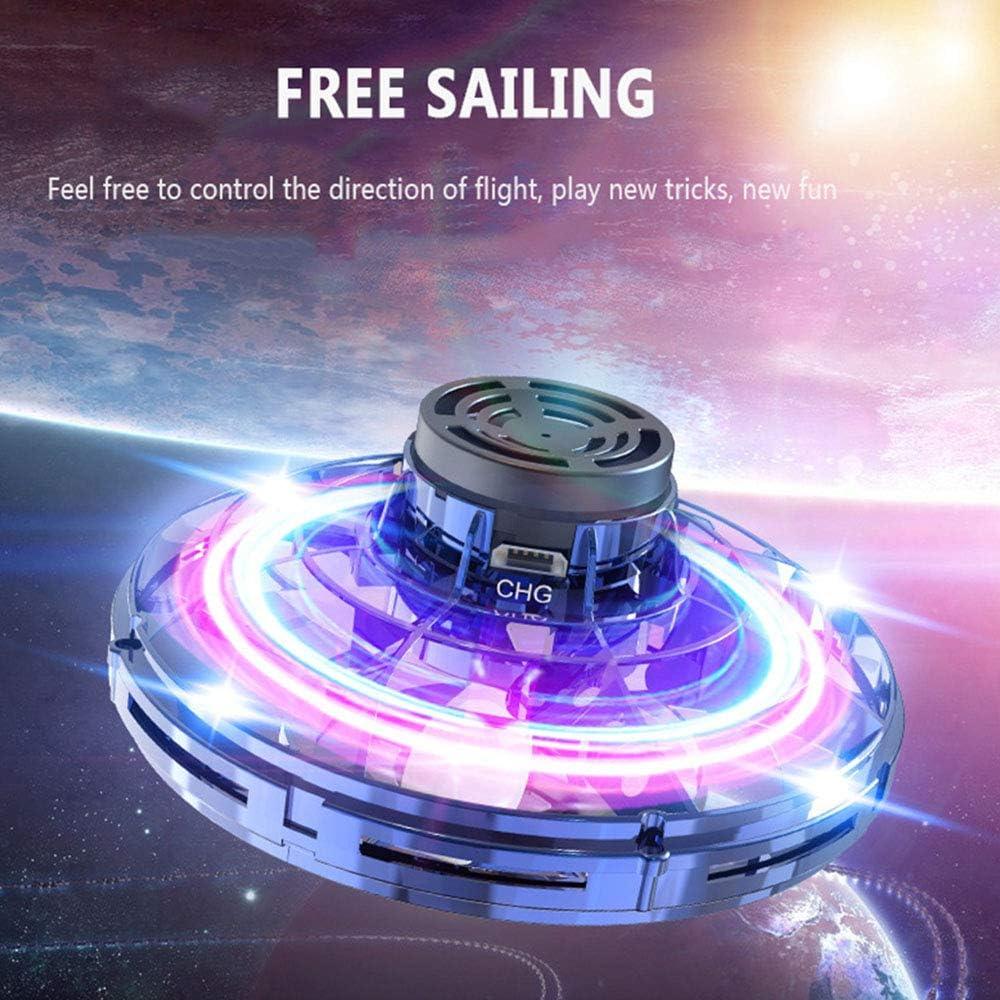 Flynova UFO Flight Gyro Flying Fingertip Spinner Decompression Toy RC Drone Rot