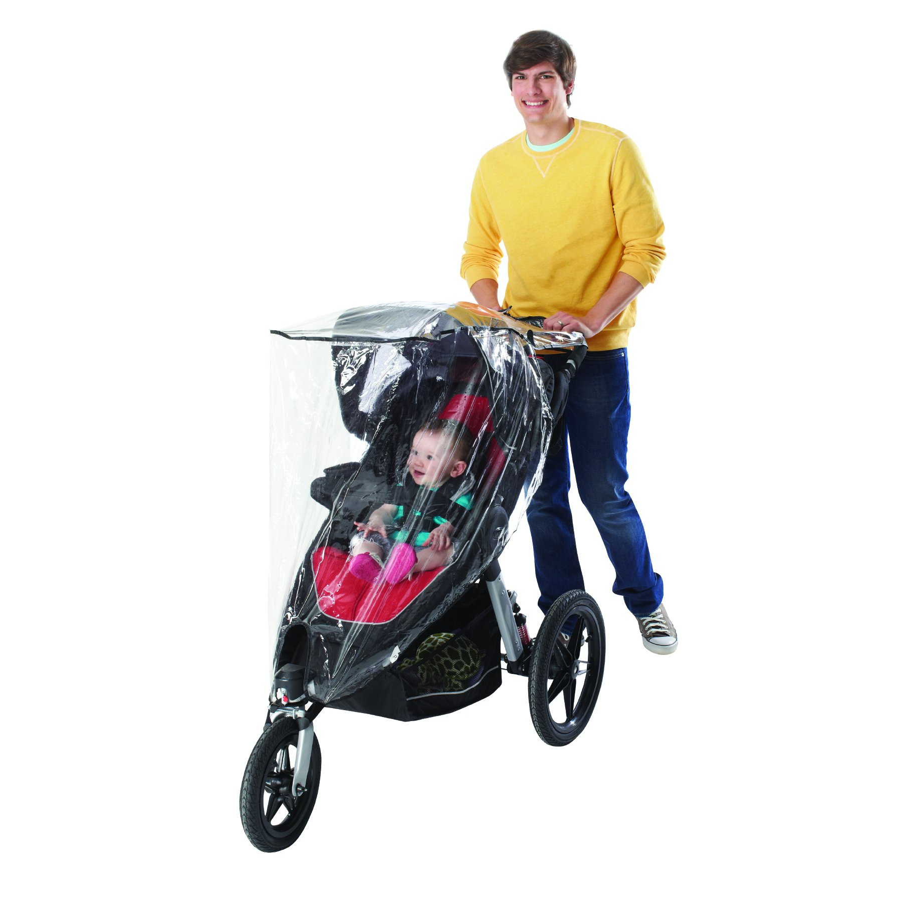 Nuby Jogging Stroller Weather Shield, Clear by Nuby